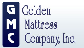 Logo for Golden Mattress Company