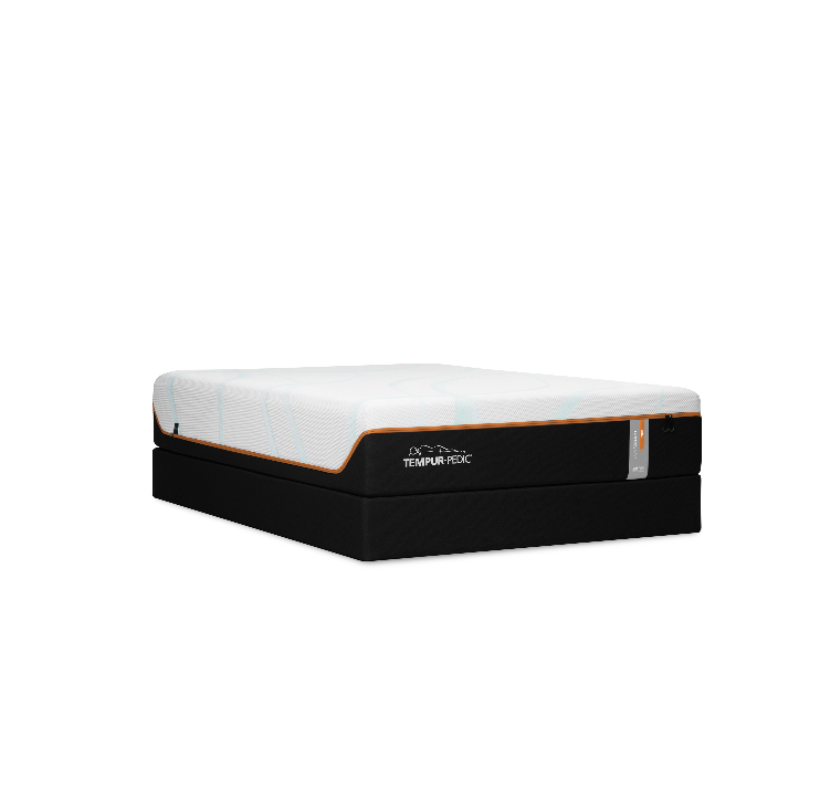 Tempur LUXE Adapt Mattress and Box Frame
